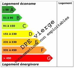 Diagnostic performances energétiques vierge